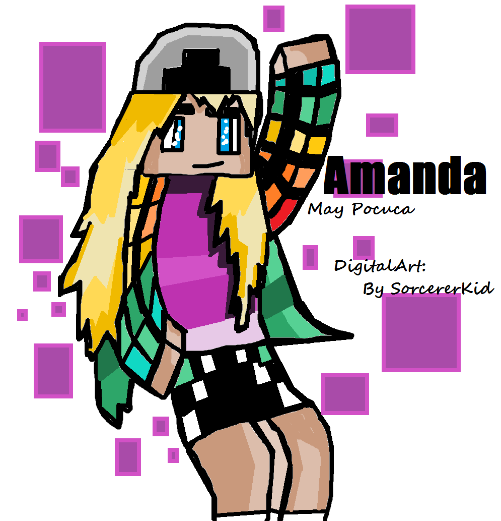 Digital Art Amanda FanArt by SorcererKid by SorcererKid