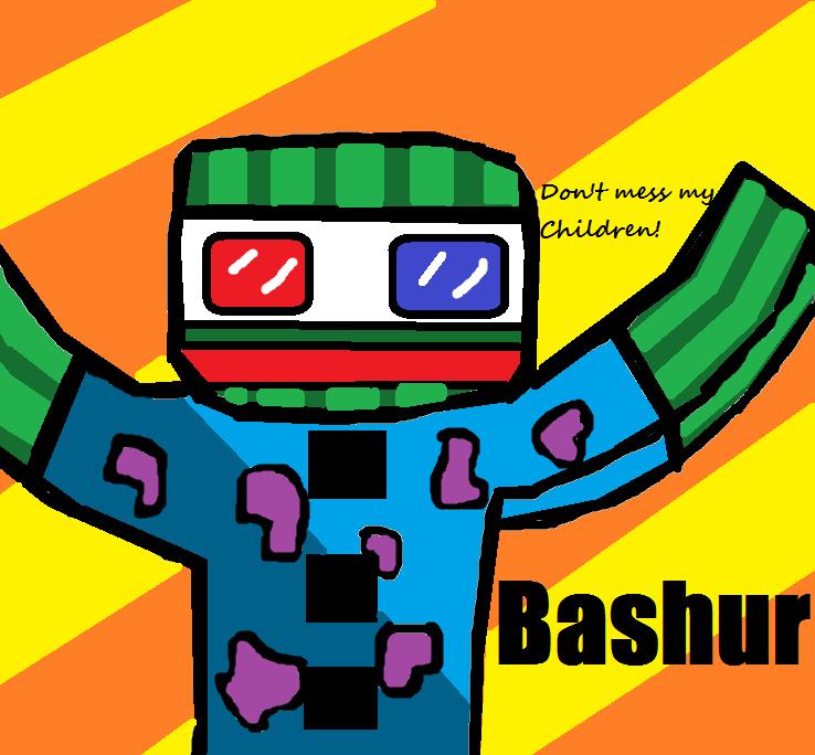 Bashur Digital Art (FanArt By SorcererKid) by SorcererKid