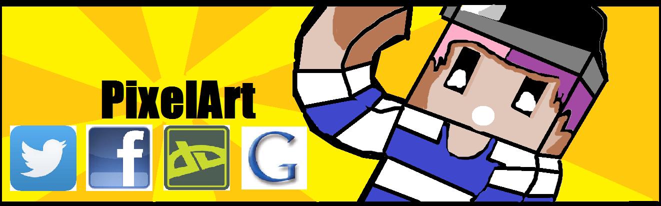 PixelArt Banner by SorcererKid