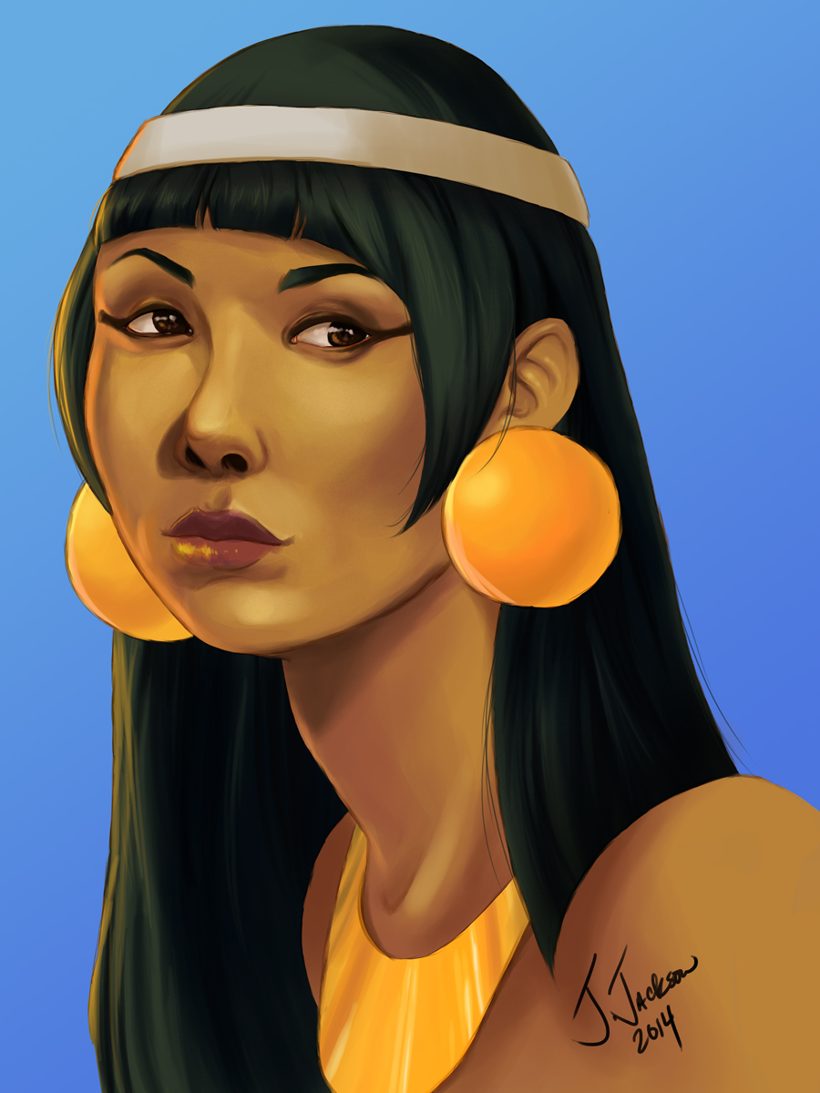 Ancient Egyptian Woman by Sorceress_Ultimecia