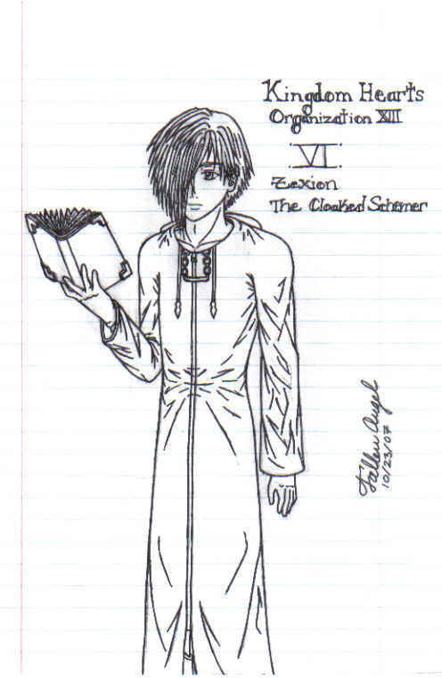 Zexion the Cloaked Schemer by Soxcha
