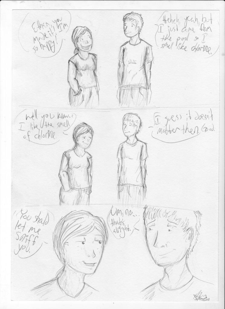 Awkward Flirt by Sparradile