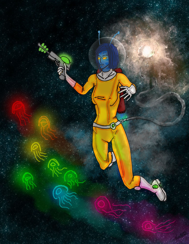 Pulsara Space Explorer by Sphinxsoul