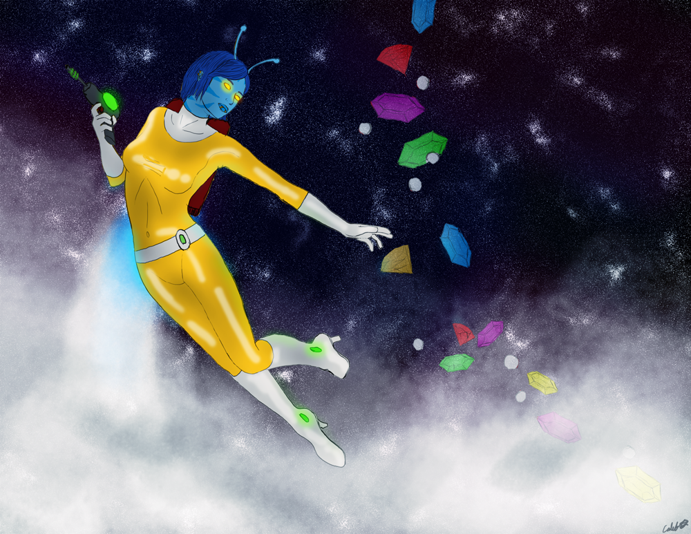 Pulsara in the sky with diamonds by Sphinxsoul