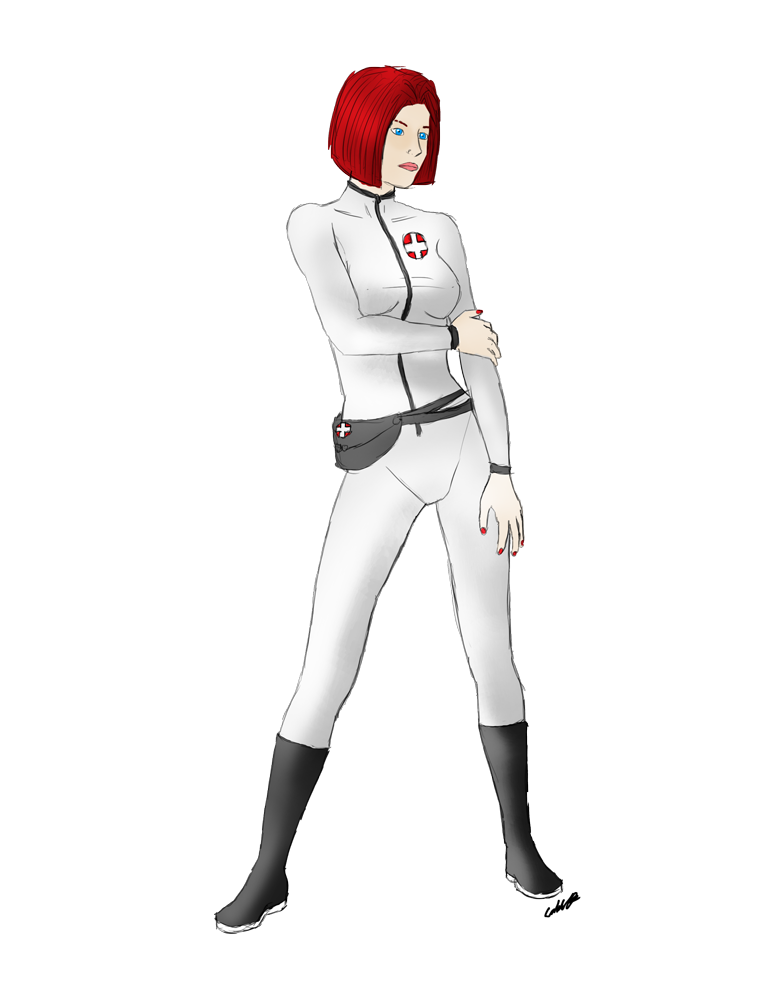 Karin Space Medic by Sphinxsoul
