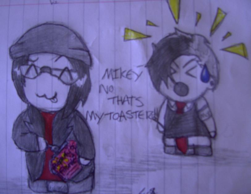NOOO MIKEY!! by SpiritRandomer