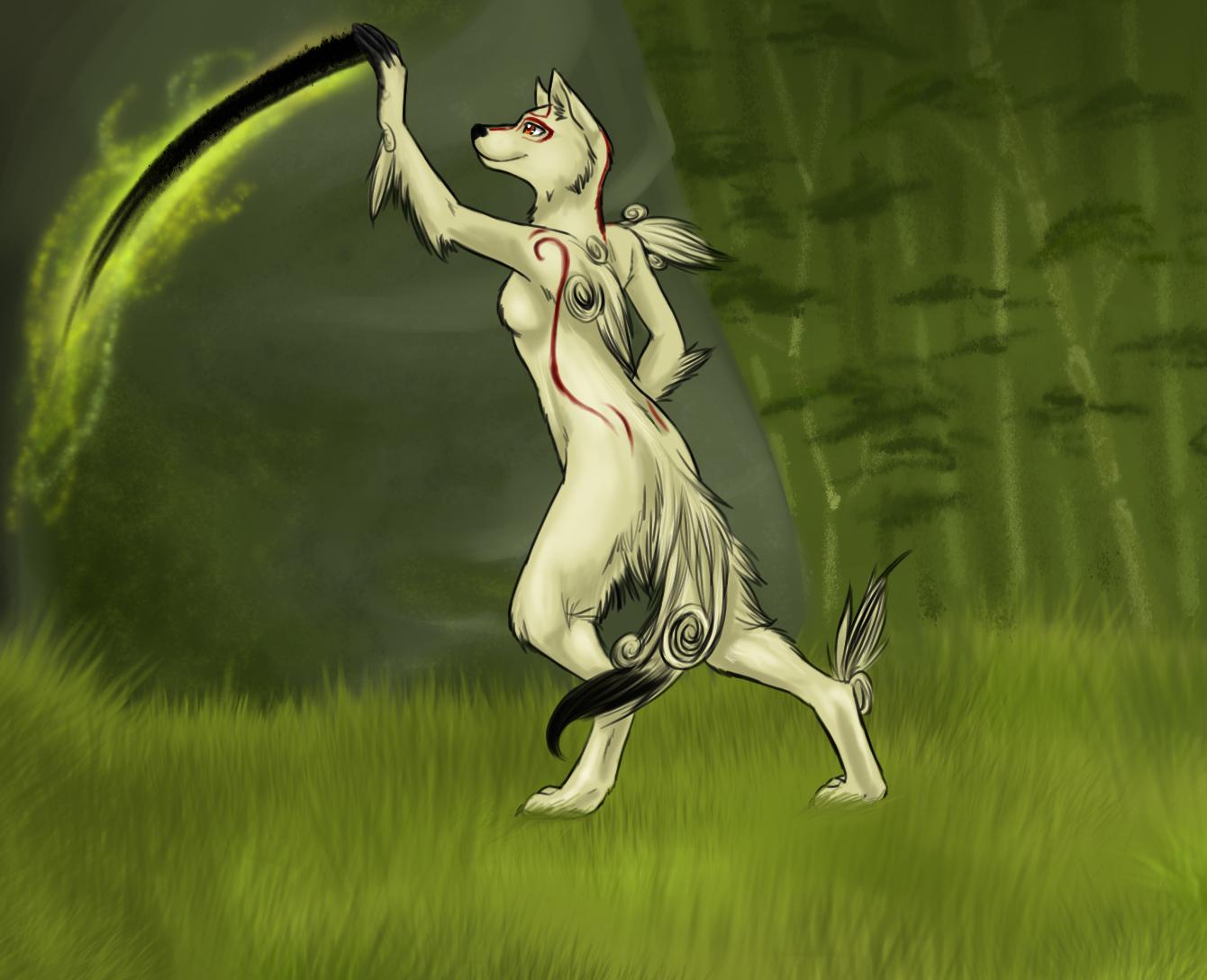 Amaterasu by Stalcry