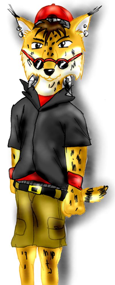 my lynix! by Star_The_Hedgehog