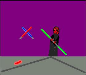 Darth Maul (Ms Paint) by Star_Wars