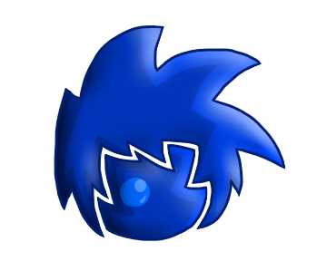 Blue Digit Icon by StickBlueAnimated