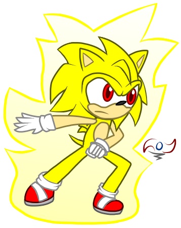 Super Sonic NG by StickBlueAnimated