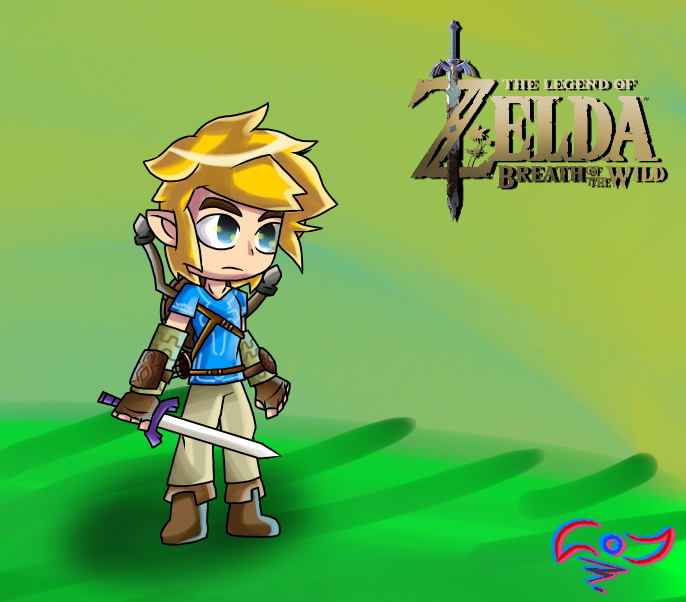 Breath Of The Wild by StickBlueAnimated