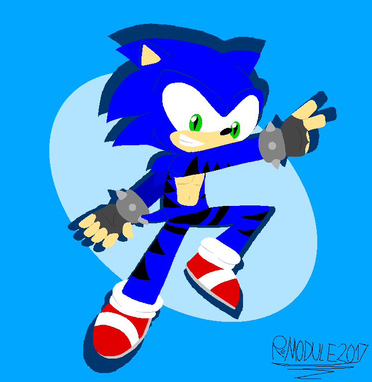 Sonic Request by StickBlueAnimated