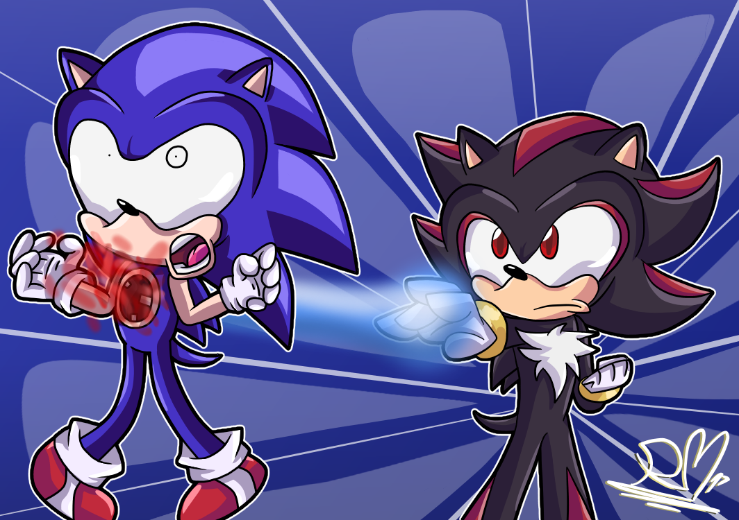 Death of Sonic by StickBlueAnimated