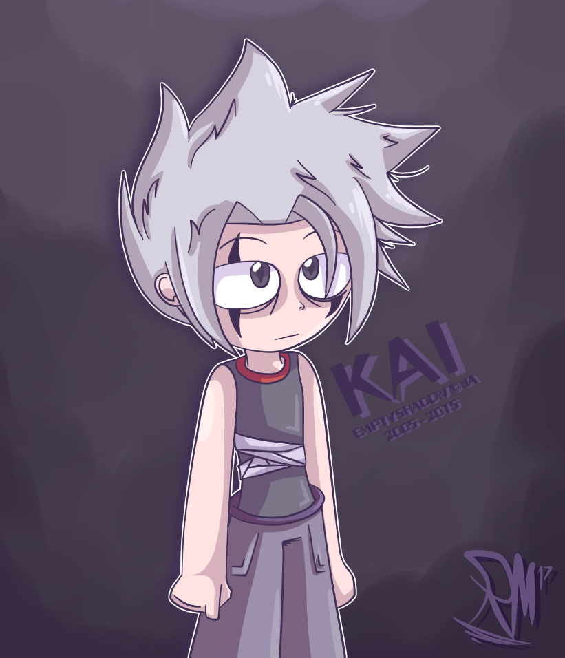 "psycho keeper ""Kai The Psycho"" by StickBlueAnimated"