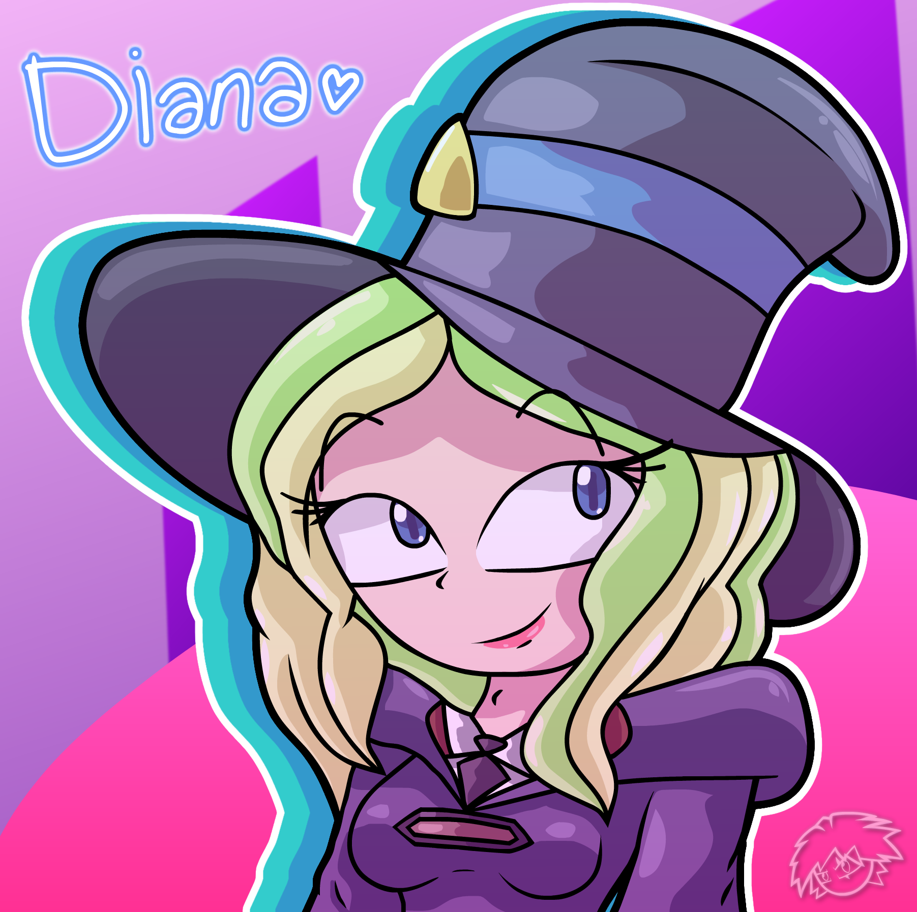 Diana <3 by StickBlueAnimated