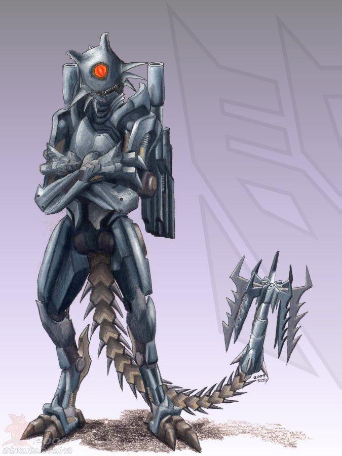 Agent Ravage by Stratadrake