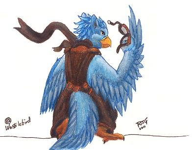 Sketch - Wafflebird by Stratadrake