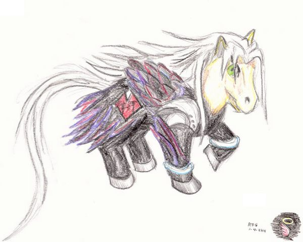Sephiroth MLP (KH version) by Stratadrake