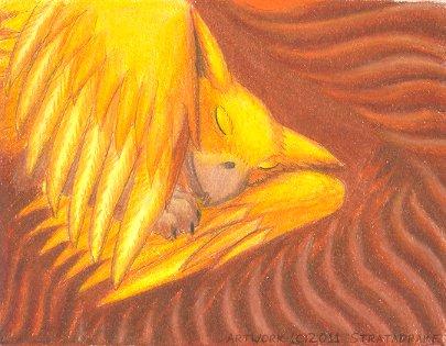 Sleeping Len by Stratadrake