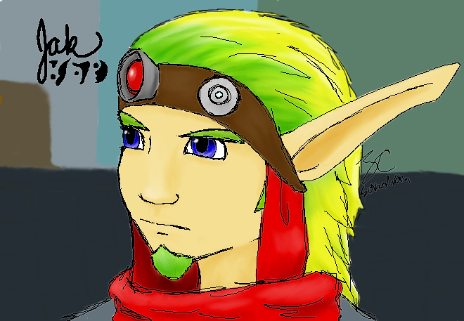 Jak in the City by Suinaliath