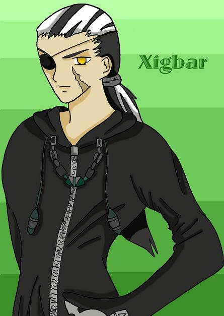 Hot Xigbar (Art trade for Marisa937) by Sukooru