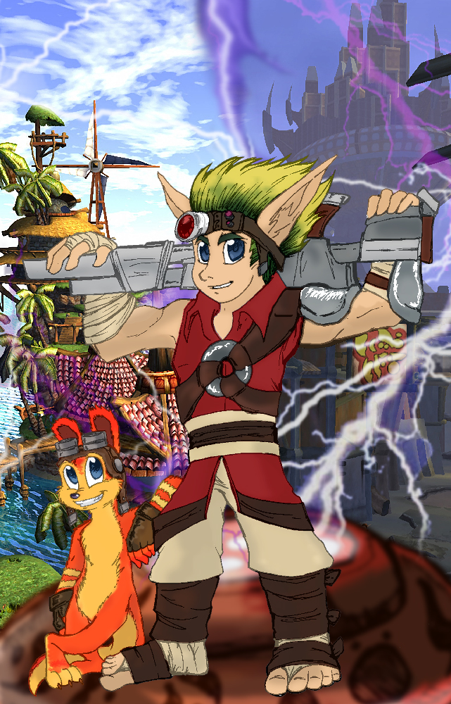 Jak & Daxter - Life is Good by Superweapon667