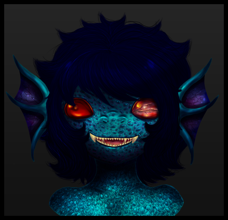 Demon Terezi (Or something) by Sutaru
