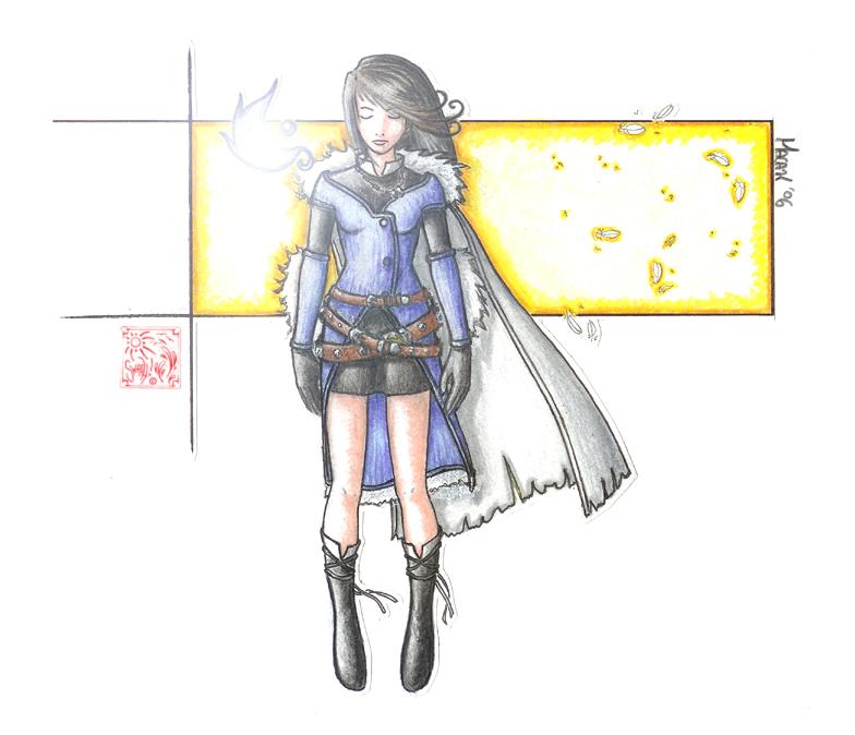 FFVIII: Sorceress Rinoa by Swashbuckler