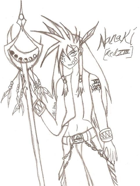 Human Nanaki :O by SweetxinsanityxSarah