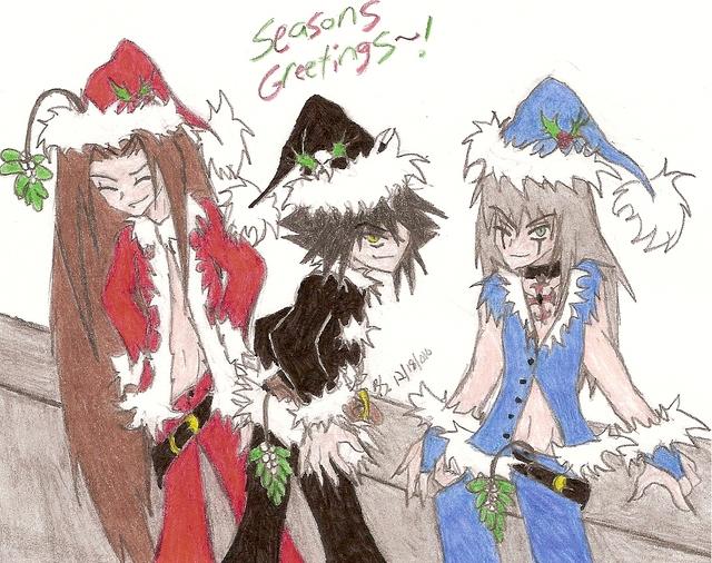 Naughty Santas by SweetxinsanityxSarah