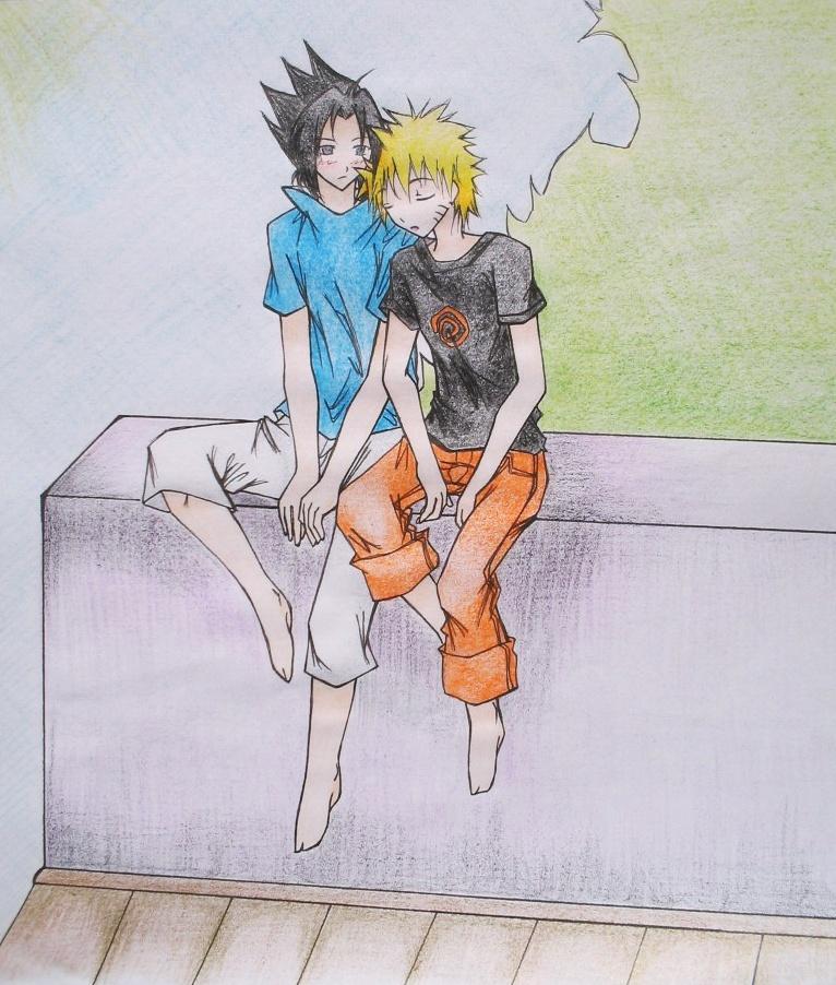 Sasu & Naru by saeki_annika