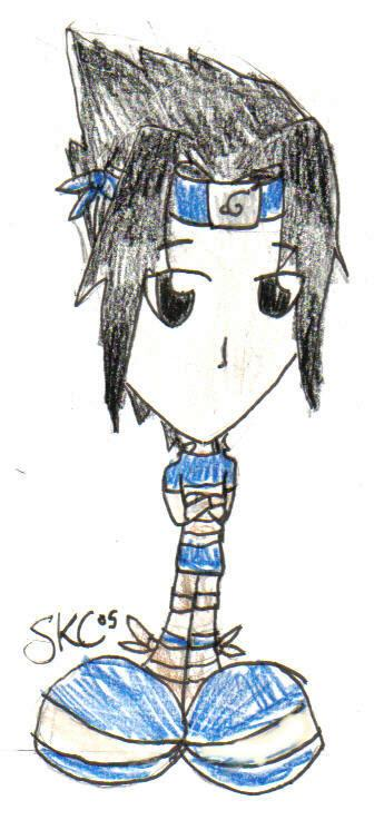 *~Chibi Sasuke~* by sago_wolfbeil