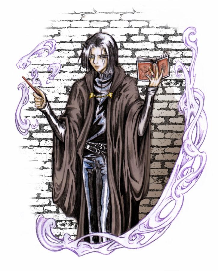 Severus Snape by saiyaku