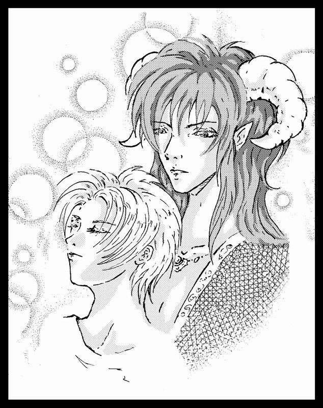 Chris & Tou Tetsu by saiyaku