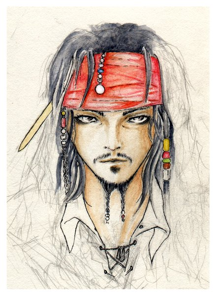Jack Sparrow [WIP] by saiyaku