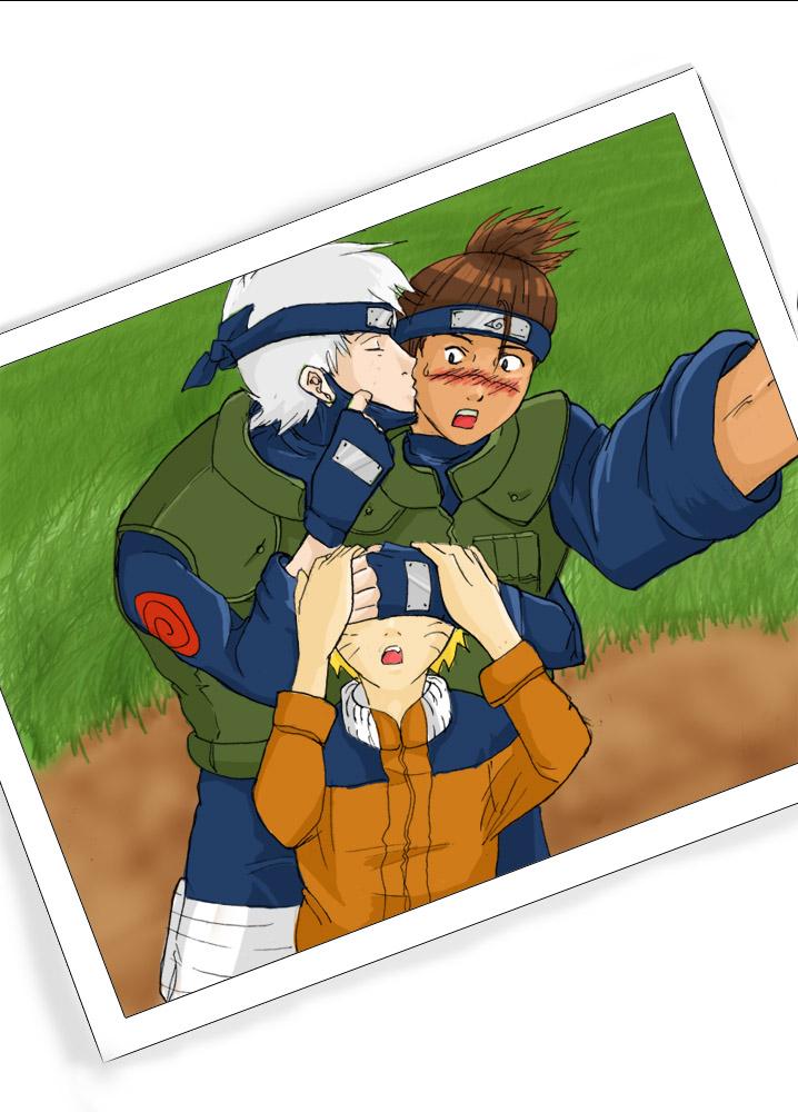 """""""Candid"""" [KakaIru, Naruto] by sakayume"""