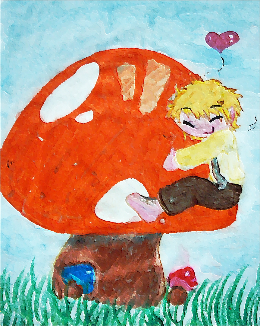 frodo and the Mushroom by sakuragirl1