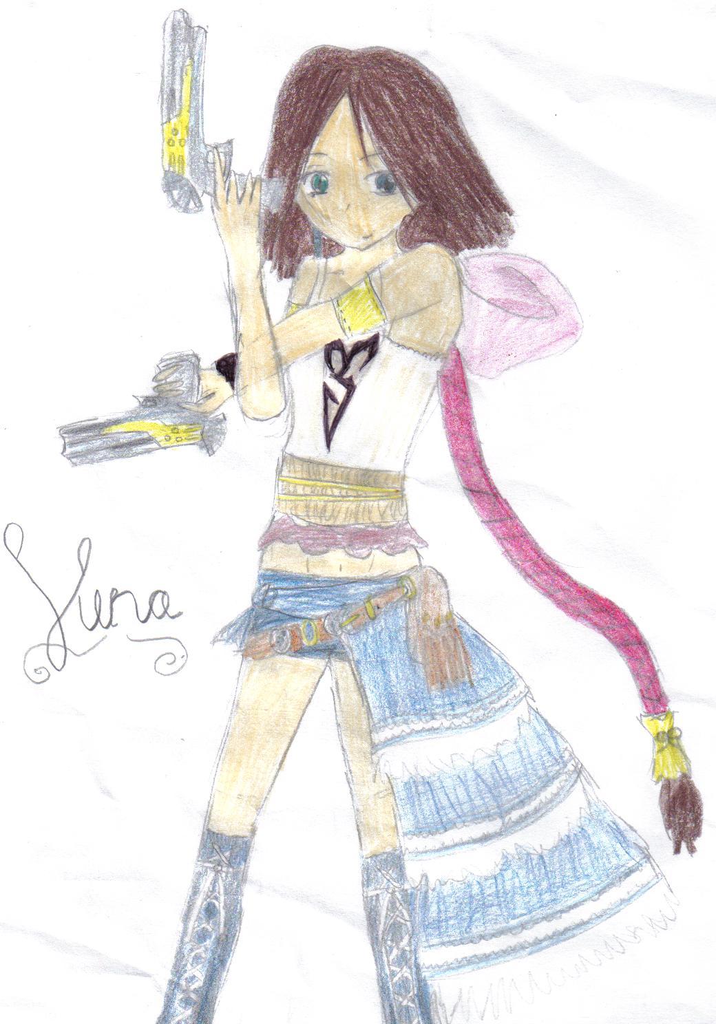 xX~Yuna~Xx by sakurakitty