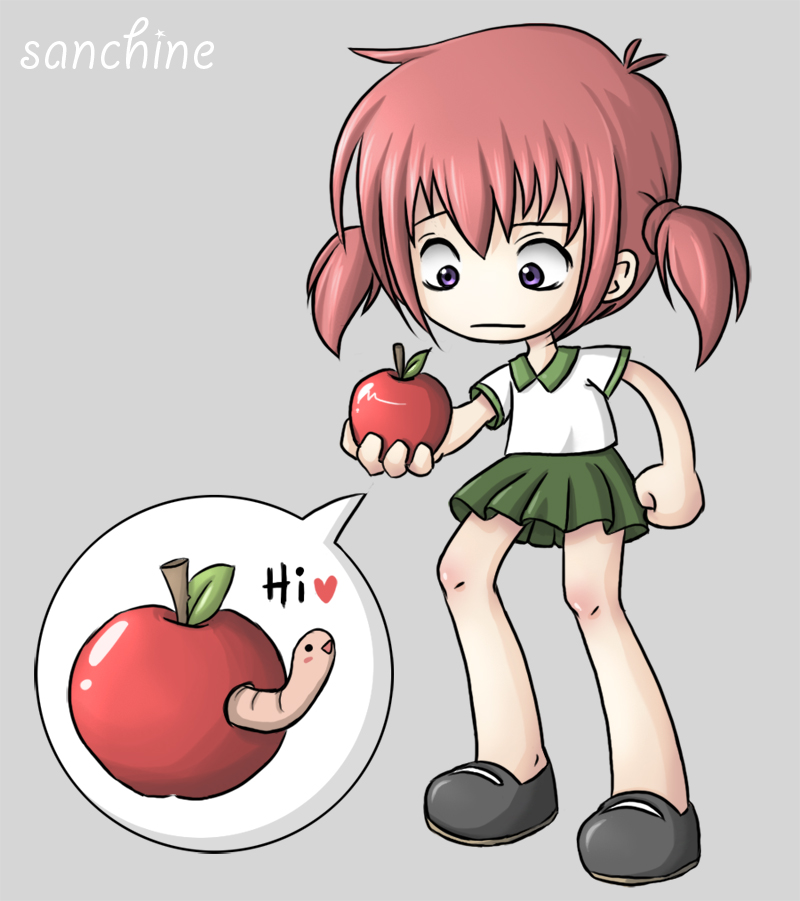 Apple by sanchine