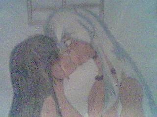 The kiss 2!! by sangofan1
