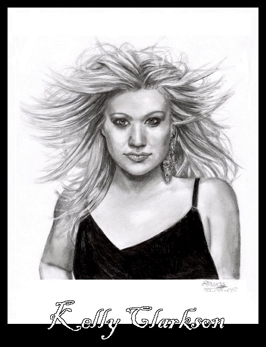 Kelly Clarkson by sas
