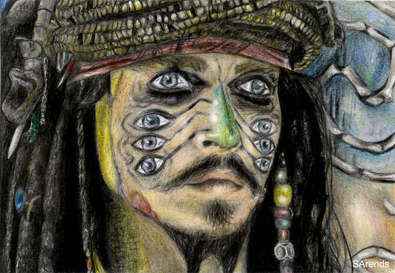 Johnny Depp by sas