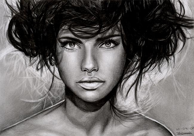 Adriana Lima by sas