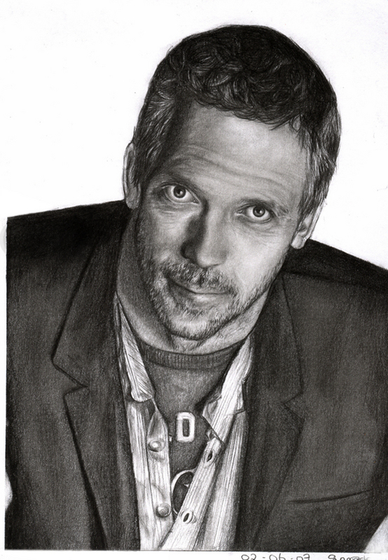 Hugh Laurie by sas