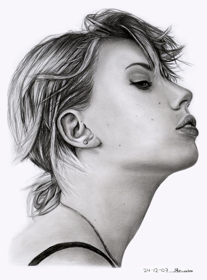Scarlett Johansson by sas