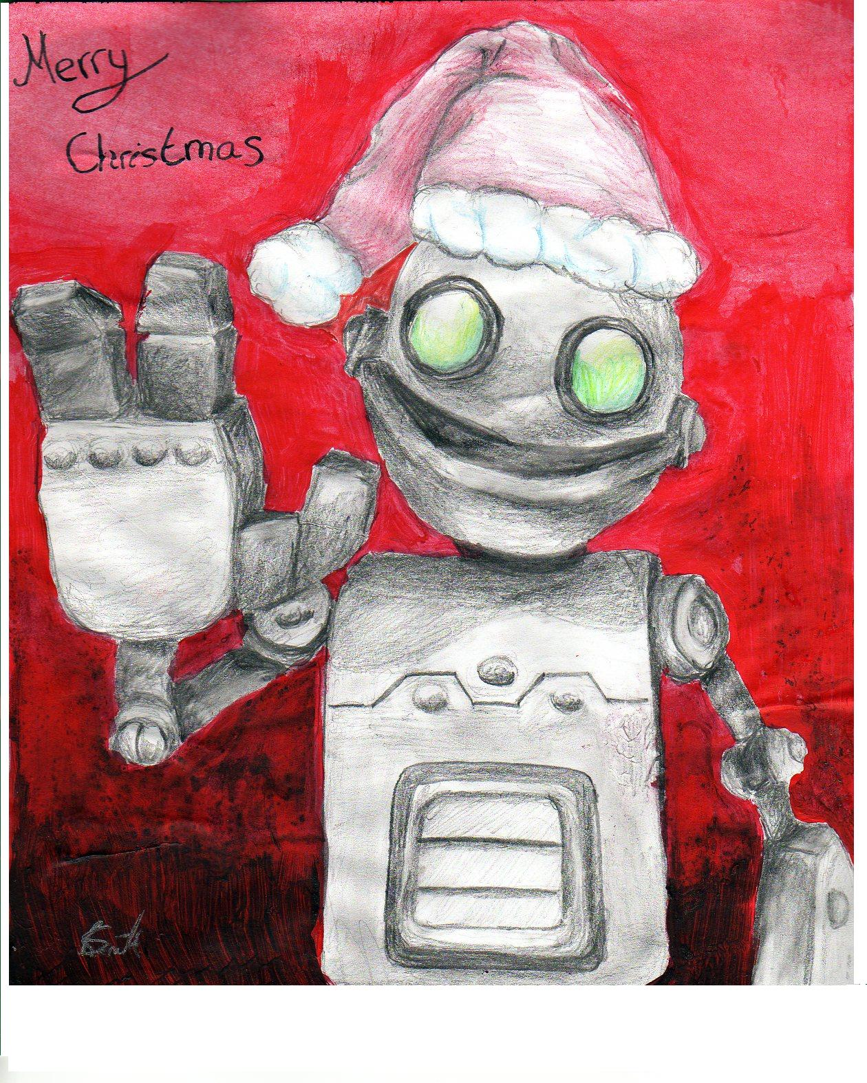 Merry Christmas from Clank by scarlettie90