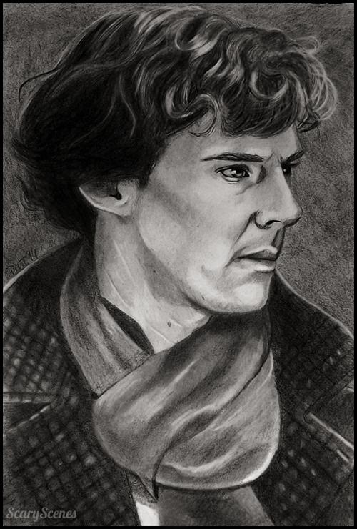 Sherlock by scaryscenes