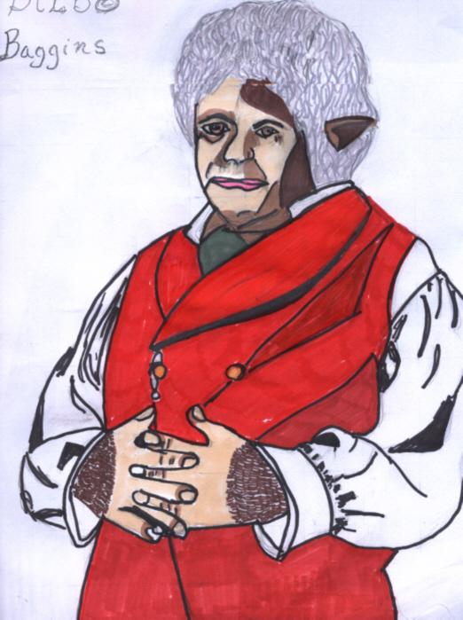 Bilbo Baggins by scififan25