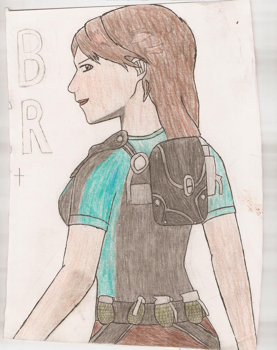 lara croft by sessharanathedragon